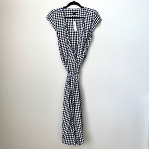 J.Crew Plaid Wrap Dress - Perfect for summer!